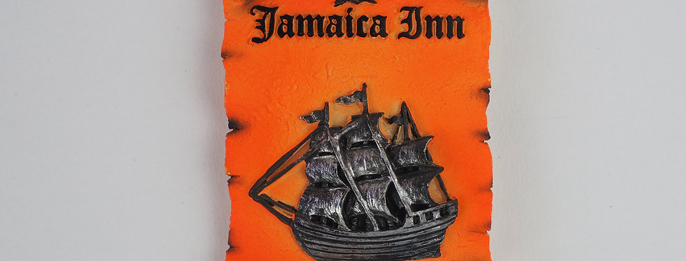 Rum Orange Ship Magnet