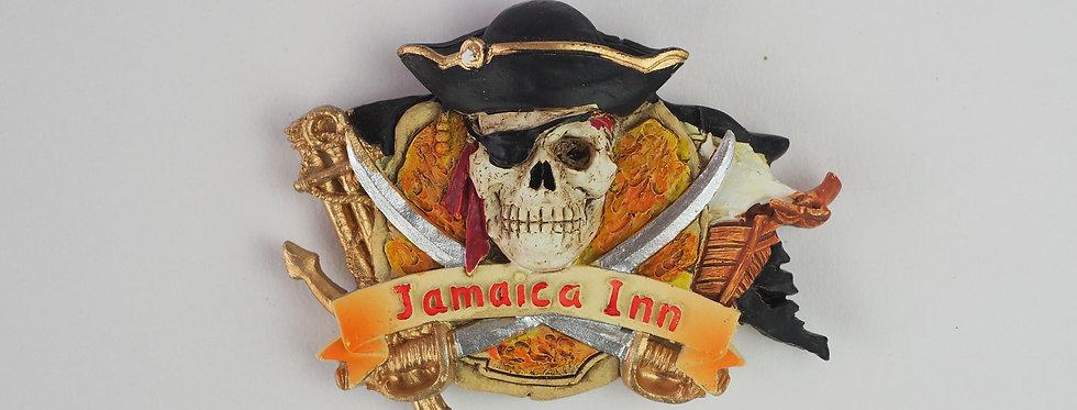 Skull & Crossbones Pirate Flag Magnet