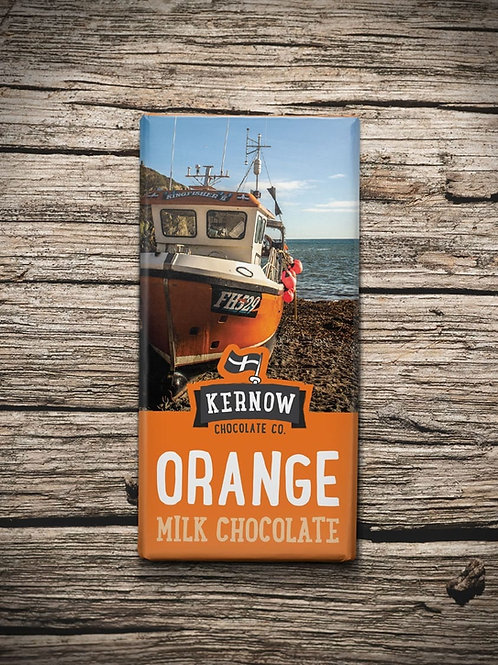 Kernow Milk Chocolate, Orange