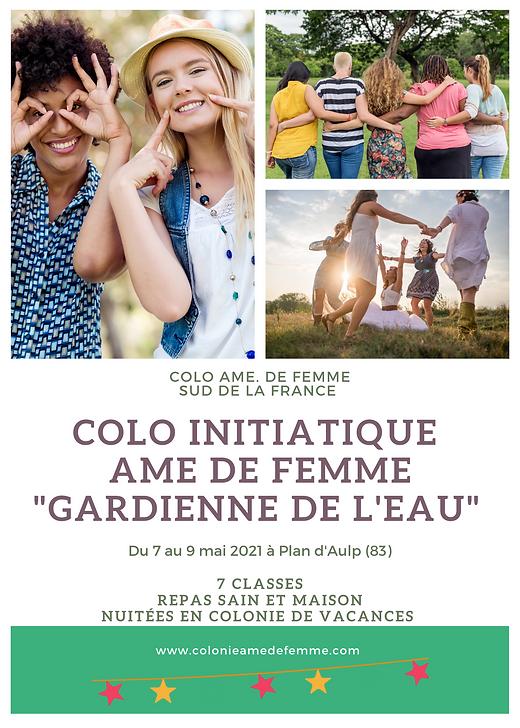 COLO INITIATIQUE AME DE FEMME _GARDIENNE