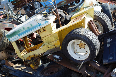 Lawn Equipment Recycling, Outdoor Power Equipment