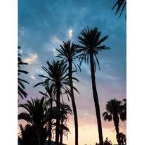 #mojacar #almería #sunset #blue #pink #s