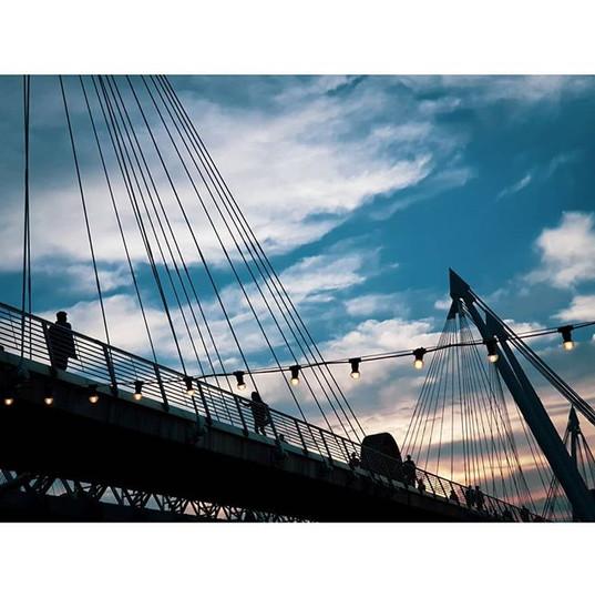 #london #londres #tamesis #walk #sunset