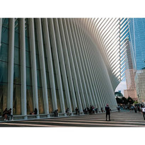 World Trade Center Station haciendo turi