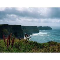 #cliffs #sea #irlanda #landscape #blue #