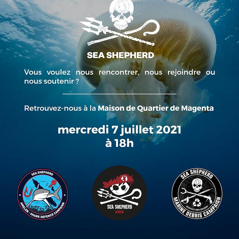 Réunion mensuelle Sea Shepherd NC