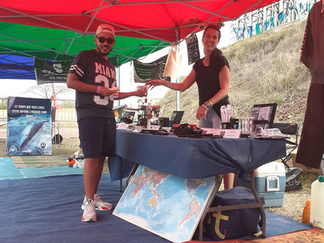Sea Shepherd au Blackwoodstock Festival