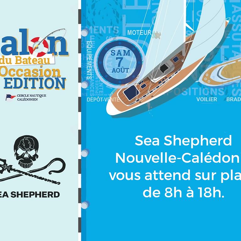 Sea Shepherd au Salon du Bateau d'Occasion