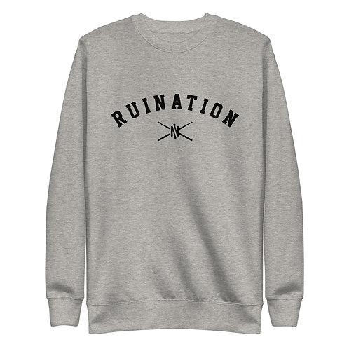 RUINation Fleece Pullover Grey