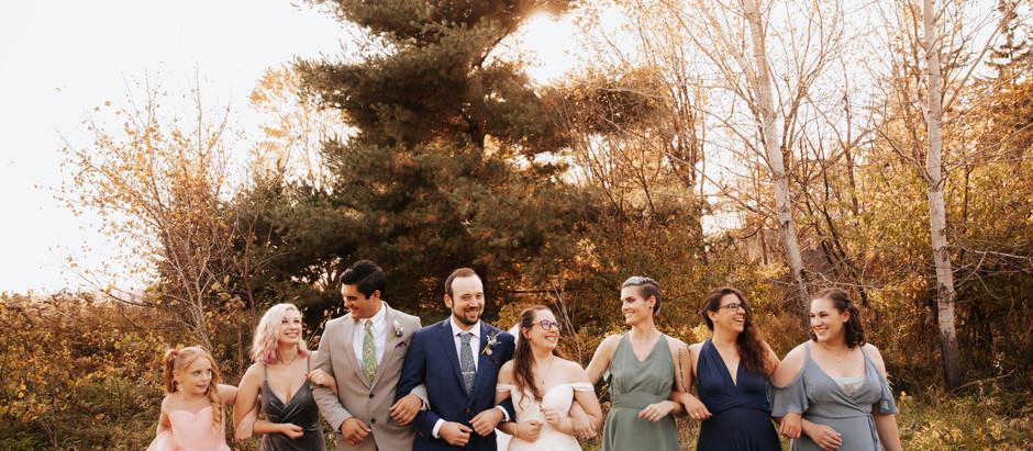 Rachel & Lance - A Whimsical Small Wedding