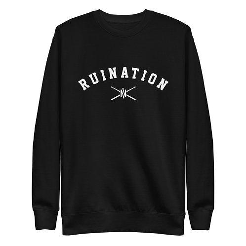 RUINation Fleece Pullover Black