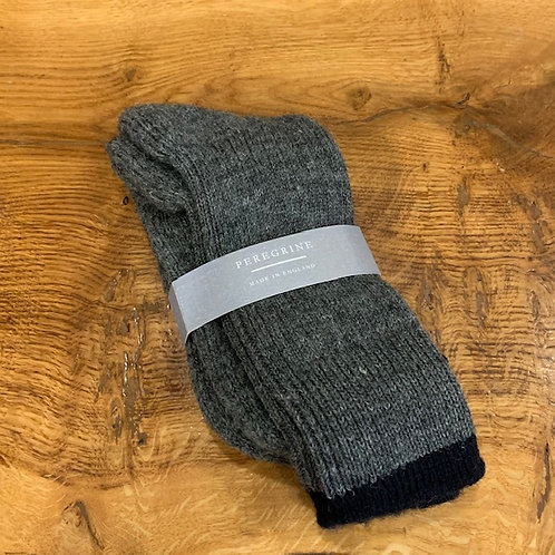 Peregrine Wool Socks - Grey