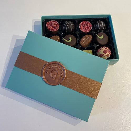Box of 12 Luxury Handmade Chocolates