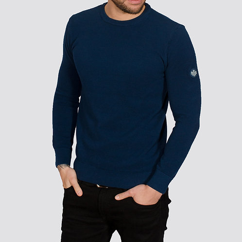 Montana Long sleeved knitted - blue