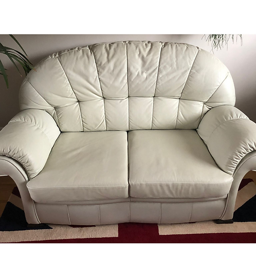 Pre-Loved Leather 2 Seater Sofa