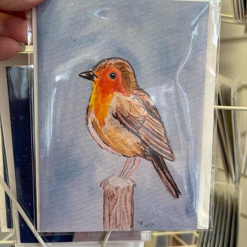 by Tonya - Printed Card - Robin