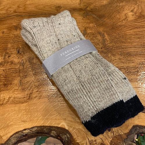Peregrine Wool Socks - Cream