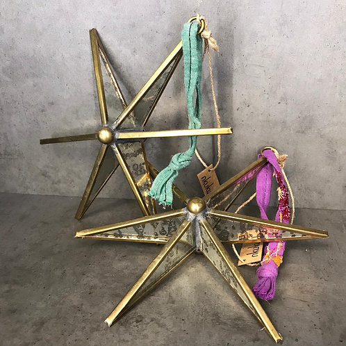 Pakora Antique Zinc Stars - Large