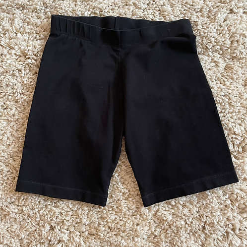 Girls Black Shorts