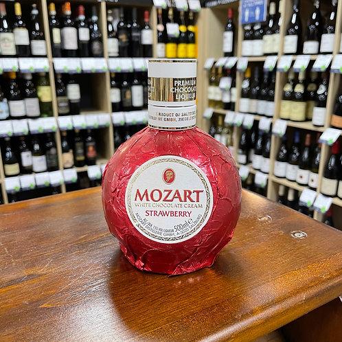 Mozart White Chocolate Cream Liqueur - Strawberry