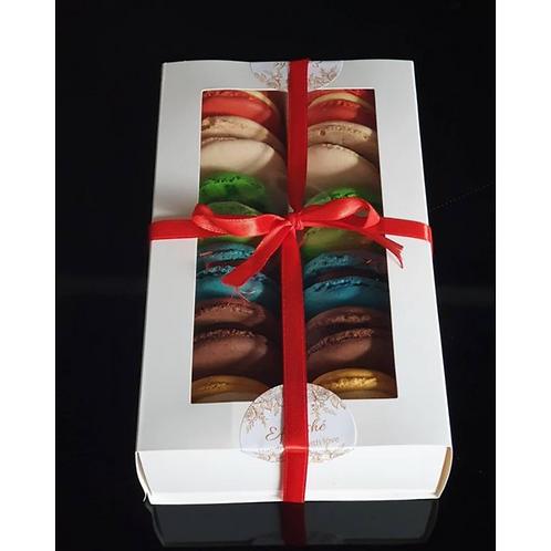 Luxury Selection box of 12 Macarons