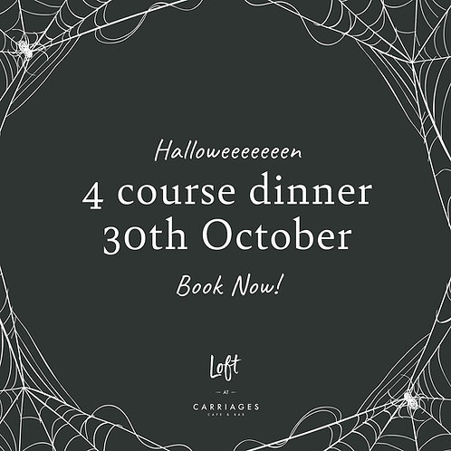 Halloween Dinner at Loft at Carriages