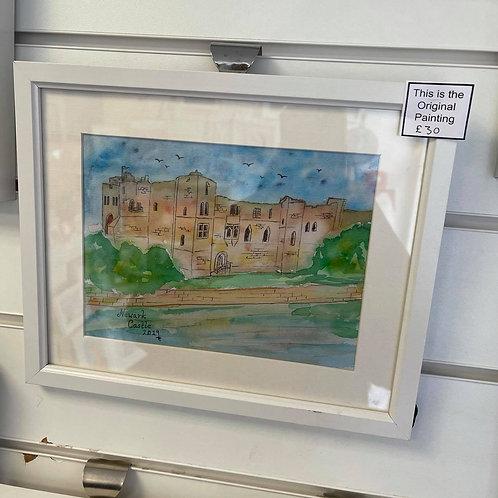 by Tonya - Original Painting - Newark Castle