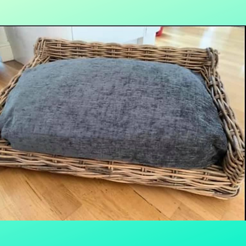Pre-Loved - Upcycled Wicker Dogs Bed