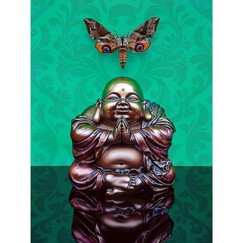 Still Life Buddha Green - Christopher Green
