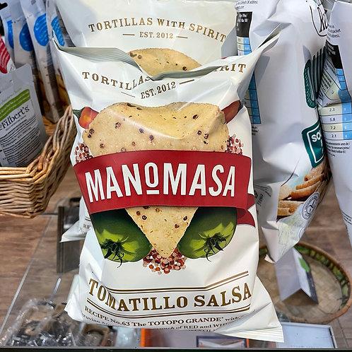 Manomasa - Tomatillo Salsa