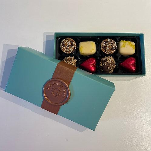 Box of 8 Luxury Handmade Chocolates