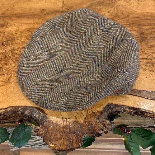 Peak Hat - Light Herringbone