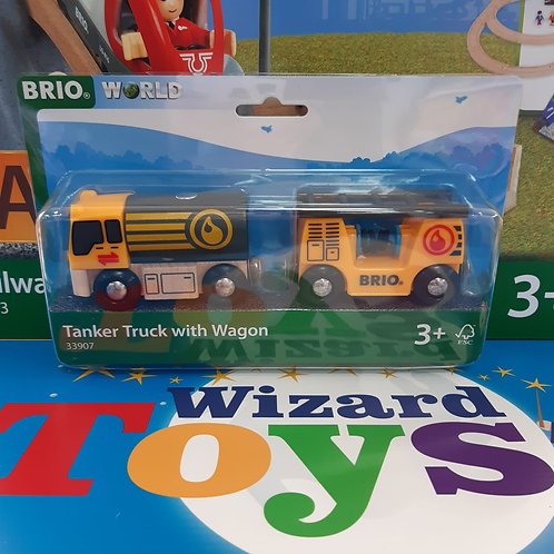 Brio - Tanker Truck with Wagon