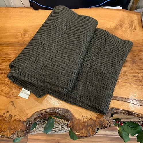 100% Wool Scarf - Green