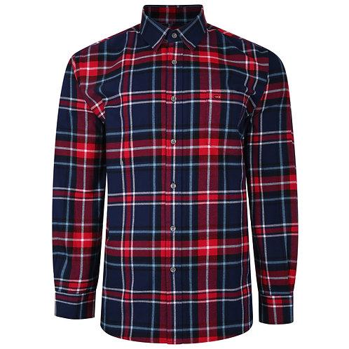 Supersoft cotton check shirt