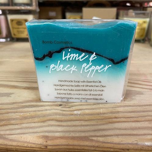 Lime & Black Pepper Soap