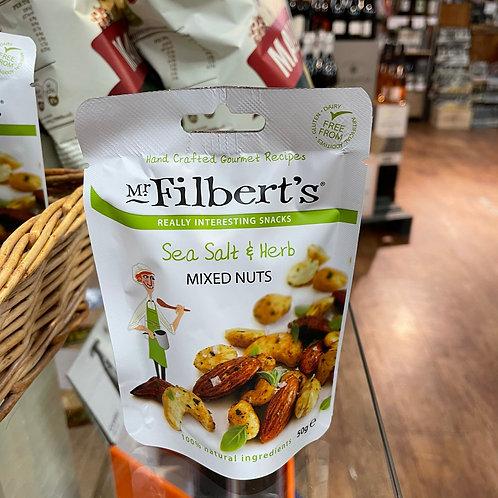 Mr Filberts - Sea Salt & Herb Mixed Nuts