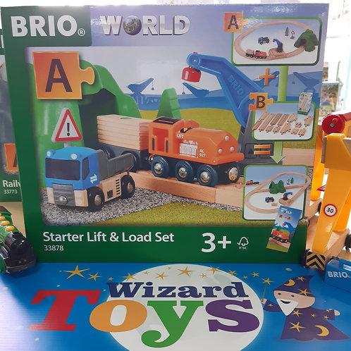 Brio - Starter Lift & Load Set