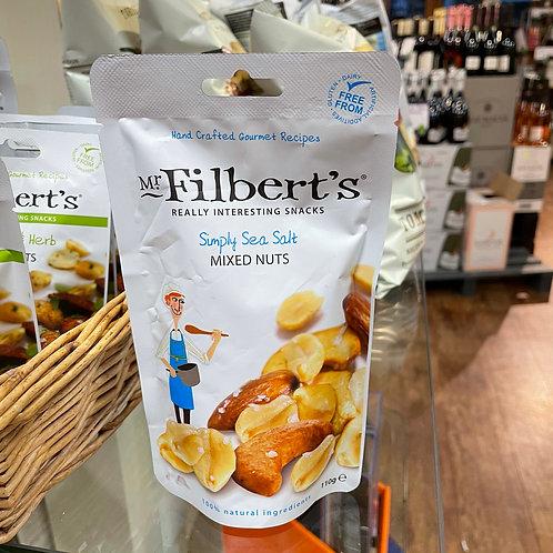 Mr Filberts - Simply Sea Salt Mixed Nuts