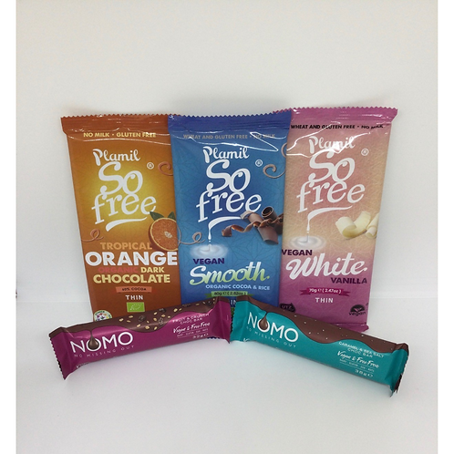 Plamil and Nomo - Non Dairy Chocolate Heaven