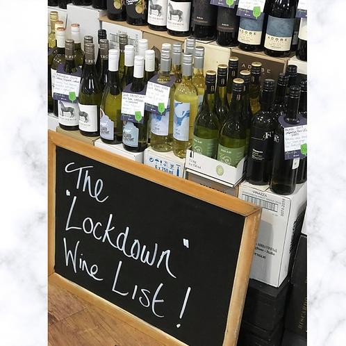 The Lockdown Wine List 1 - WHITE WINE