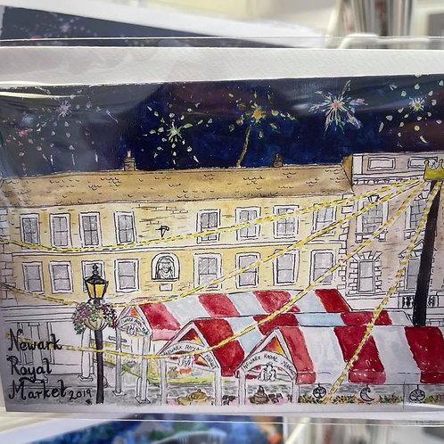 by Tonya - Printed Card - Newark Royal Market