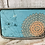 Thumbnail: Blue Flower Belt Buckle