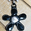 Thumbnail: Black Onyx and Pearl Pendant with Crochet Pearl Necklace