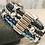 Thumbnail: Multi Braided Bar Bracelet with Antique Silver Multi Slider