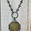 Thumbnail: Coca-Cola Brass Pendant with Pyrite chain Necklace