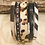Thumbnail: Multi Strand Animal Print Cuff with Magnet Closure
