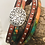 Thumbnail: Wrap leather bracelet with magnetic clasp