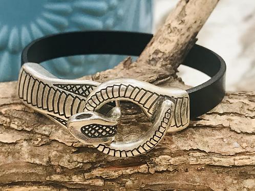 Men's Cobra Ring Bracelet