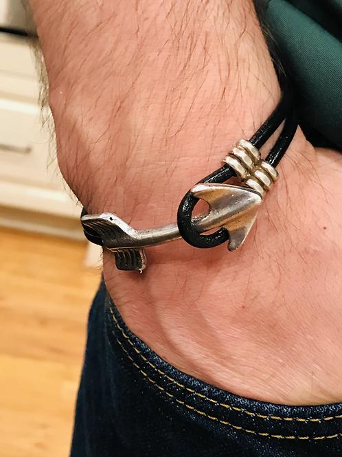 Men's Silver Arrow Bracelet